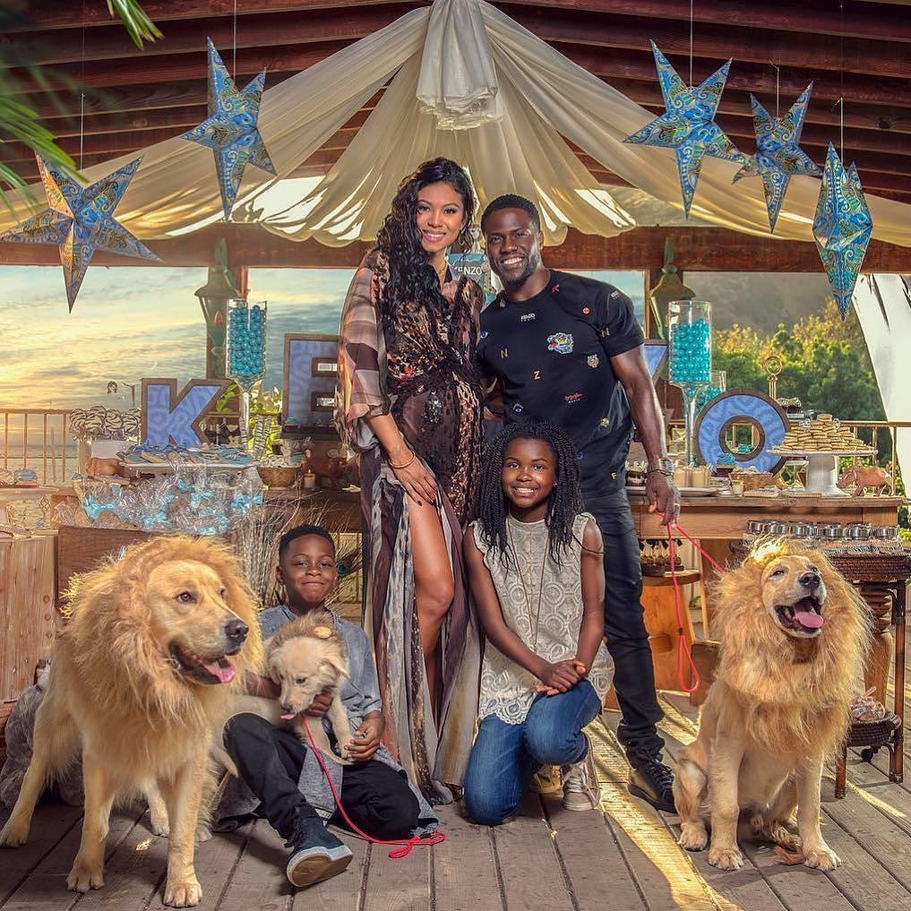 Kevin Hart and Family - OLORISUPERGAL