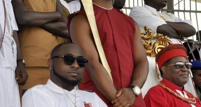 Davido and Oba of Benin - OLORISUPERGAL