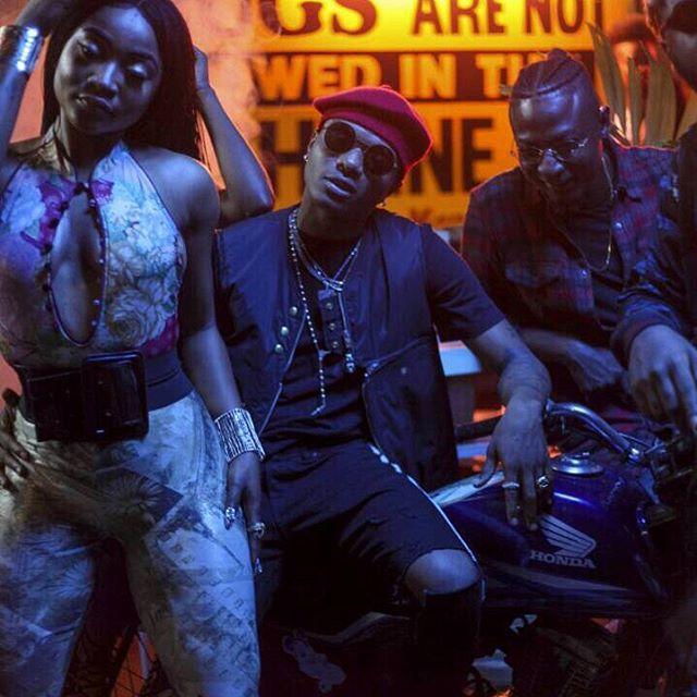 "B.T.S Photos from Tiwa Savage Music Video ""Ma Lo"" - OLORISUPERGAL"