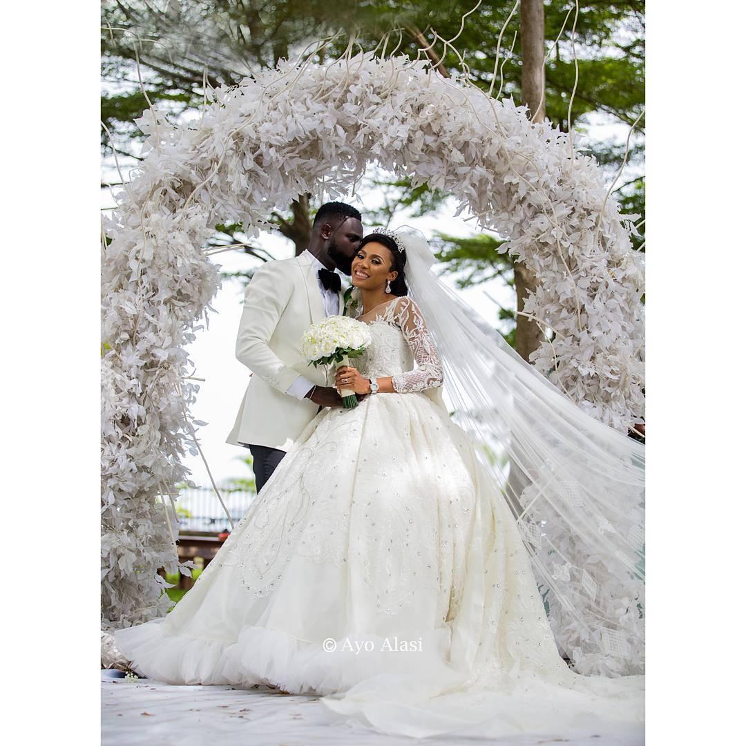 Yomi Causual and Grace White Wedding - OLORISUPERGAL