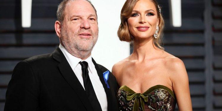 Harvey Weinstein and Georgina Chapman - OLORISUPERGAL