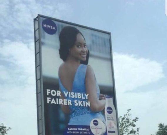 Nivea Advert - OLORISUPERGAL