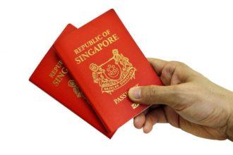 Singapore Passport - olorisupergal