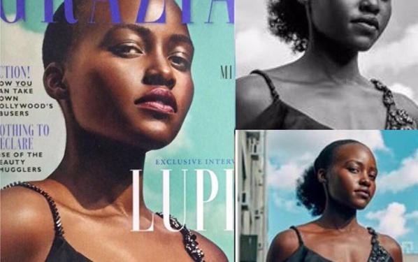 Lupita Nyongo - Grazia UK Magazine