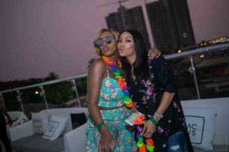 DJ CUPPY AND TOKE MAKINWA