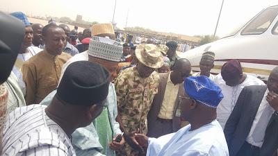 Obasanjo in Borno