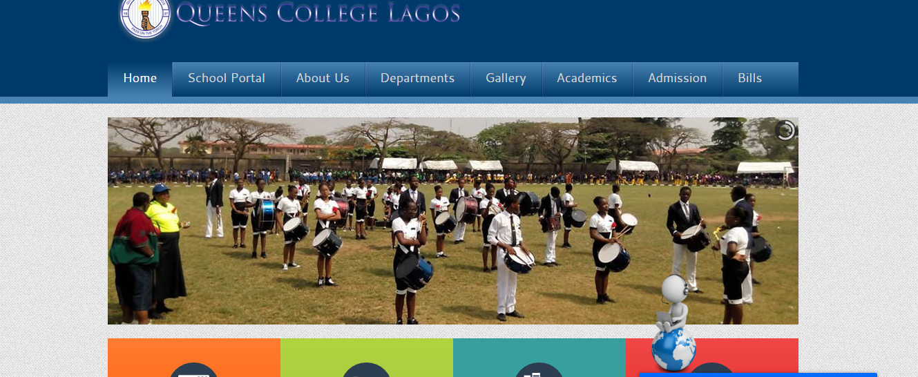 Queens College website today after the Press release was taken down
