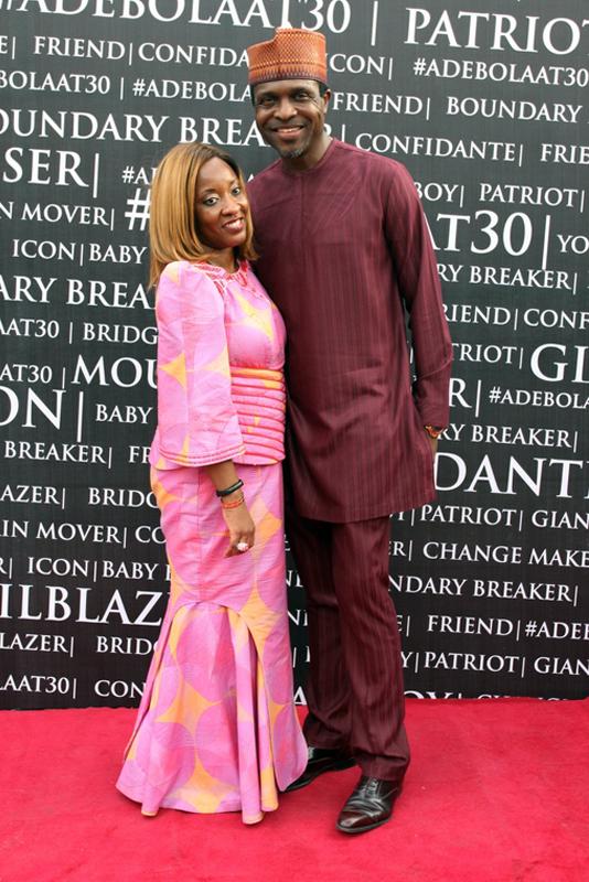 Tonye Cole and wife (2)